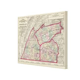 Cumberland, Franklin, Adams counties Canvas Print