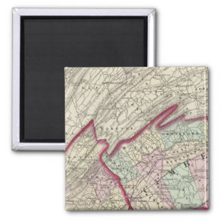 Cumberland, Franklin, Adams counties 2 Inch Square Magnet