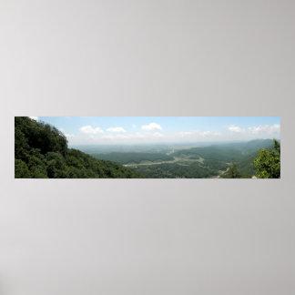 Cumberland Gap Panoramic 2 Print