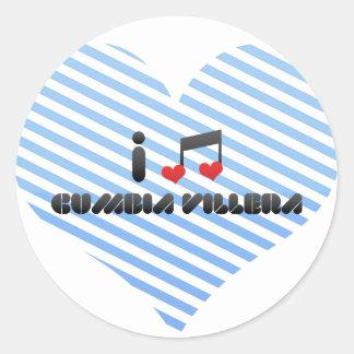 Cumbia Villera Classic Round Sticker