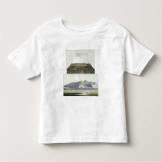 Cumbre de Cotopaxi (top), y la erupción de Coto T-shirts