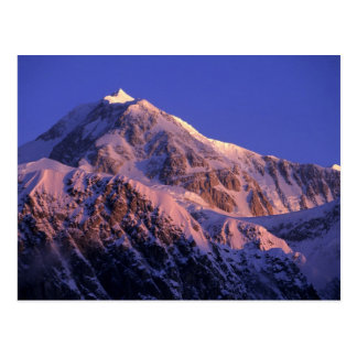 Cumbre de Denali el monte McKinley máximo) en Postal