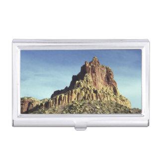 Cumbre de la montaña de la roca cajas de tarjetas de negocios