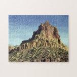 Cumbre de la montaña de la roca puzzle