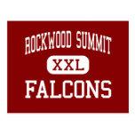 Cumbre de Rockwood - Falcons - alta - Fenton Misso Tarjetas Postales