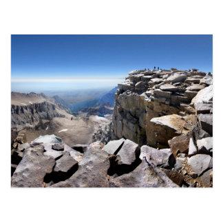 Cumbre del Mt Whitney - rastro de John Muir Postal