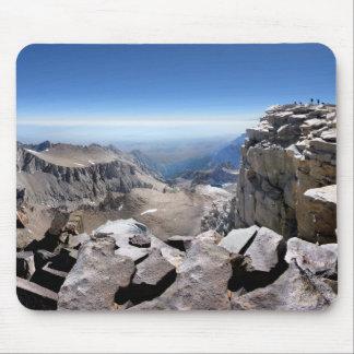 Cumbre del Mt Whitney - rastro de John Muir Tapete De Ratón