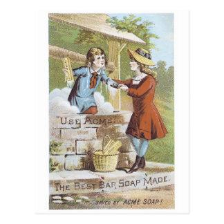 Cumbre el mejor jabón de barra hecho postal
