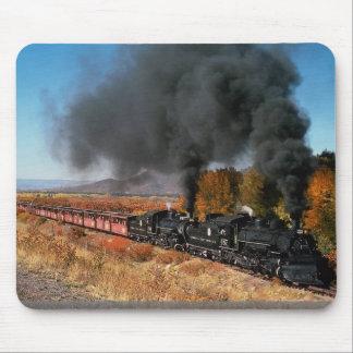 Cumbres and Toltec Railroad, No. 487 and No. 484, Mouse Pad