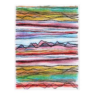 Cumbria Lines Postcard