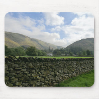 Cumbrian Dry Stone Wall at Howtown Mouse Pad