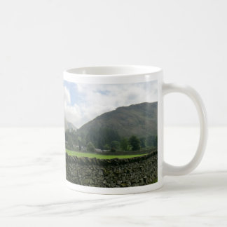 Cumbrian Dry Stone Wall at Howtown Classic White Coffee Mug