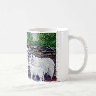 Cumbrian Sheep-Original Art Classic White Coffee Mug