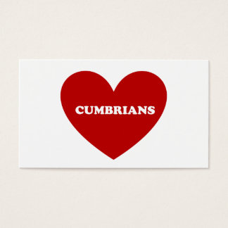 Cumbrians Business Card