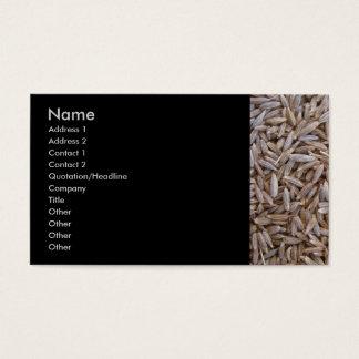 Cumin Seeds Business Card