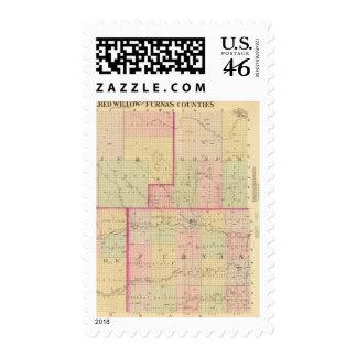 Cuming County, Nebraska Postage Stamp