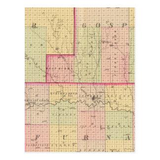 Cuming County, Nebraska Postcard