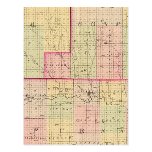 Cuming County, Nebraska Postcards