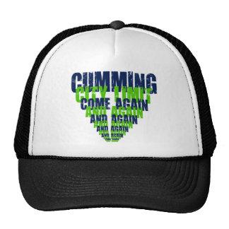 Cumming City Joke Trucker Hats