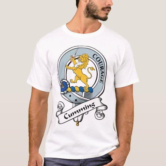 Cumming Clan Badge T-Shirt