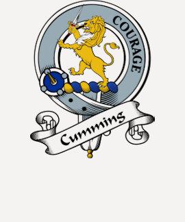 Cumming Clan Badge Tshirts