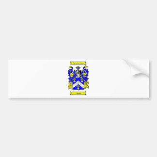 Cumming Coat of Arms Car Bumper Sticker