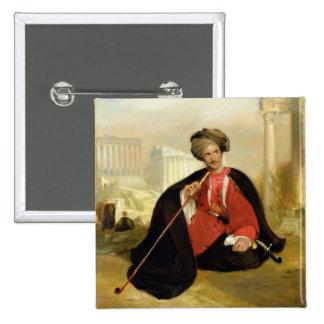 Cumming de Charles Lennox, 1817 (aceite en el pane Pin Cuadrada 5 Cm