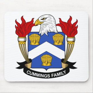 Cummings Family Crest Mouse Pad