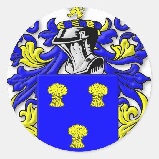 Cummins Coat of Arms Classic Round Sticker