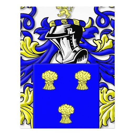 Cummins Coat of Arms Letterhead Template | Zazzle
