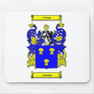 Cummins Coat of Arms Mouse Pad