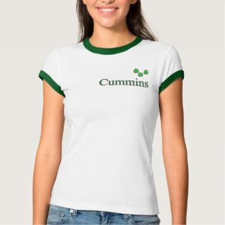 Cummins Ladies Ringer T-Shirt