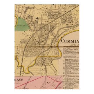 Cumminsville, Ohio Postcard