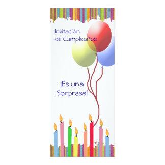Cumpleaños01 - Invitación Card