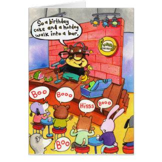 Cumpleaños 13 tarjeta de felicitación