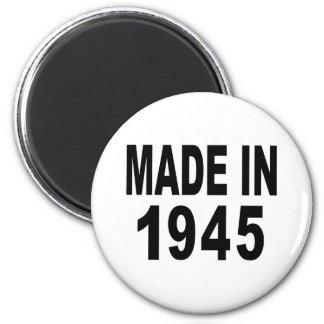 Cumpleaños 1945 imán redondo 5 cm
