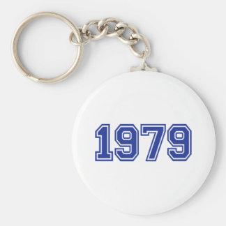 Cumpleaños 1979 llaveros personalizados