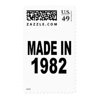 Cumpleaños 1982 franqueo