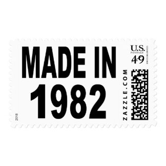 Cumpleaños 1982 sello