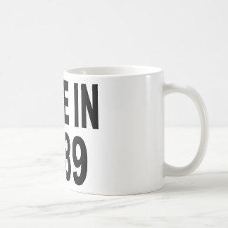 Cumpleaños 1989 taza de café