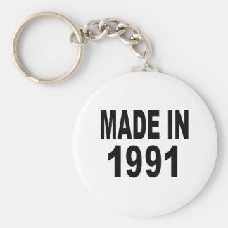 Cumpleaños 1991 llaveros