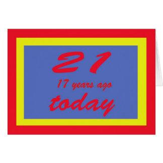 cumpleaños 38 tarjeta de felicitación