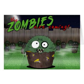 Cumpleaños #3 de la magdalena del zombi felicitaciones