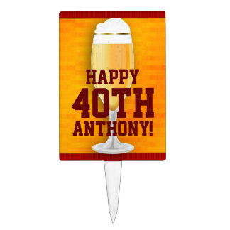 Cumpleaños 40 o de la cerveza personalizado