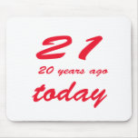 cumpleaños 41 alfombrilla de raton