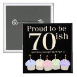 cumpleaños 70ish pin