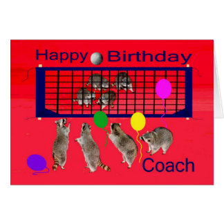 Cumpleaños a la tarjeta de felicitación del coche