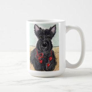 Cumpleaños adorable de la taza de Terrier del