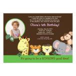 Cumpleaños animal de la foto del parque zoológico
