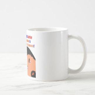 Cumpleaños asustadizo 102 taza de café
